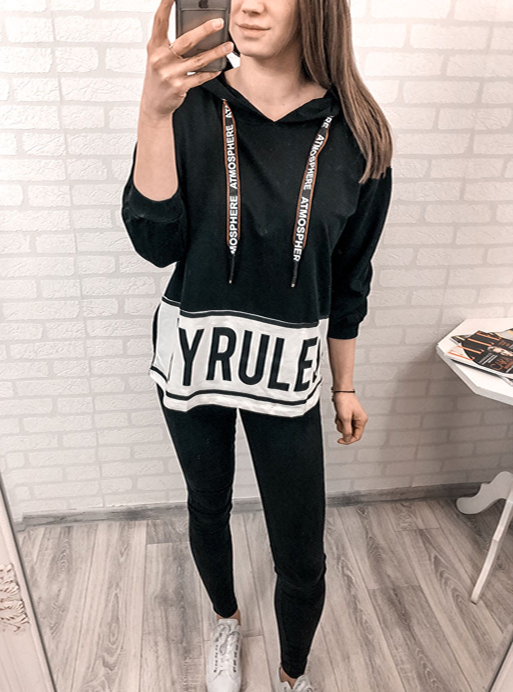 Bluza Megi My Rules black