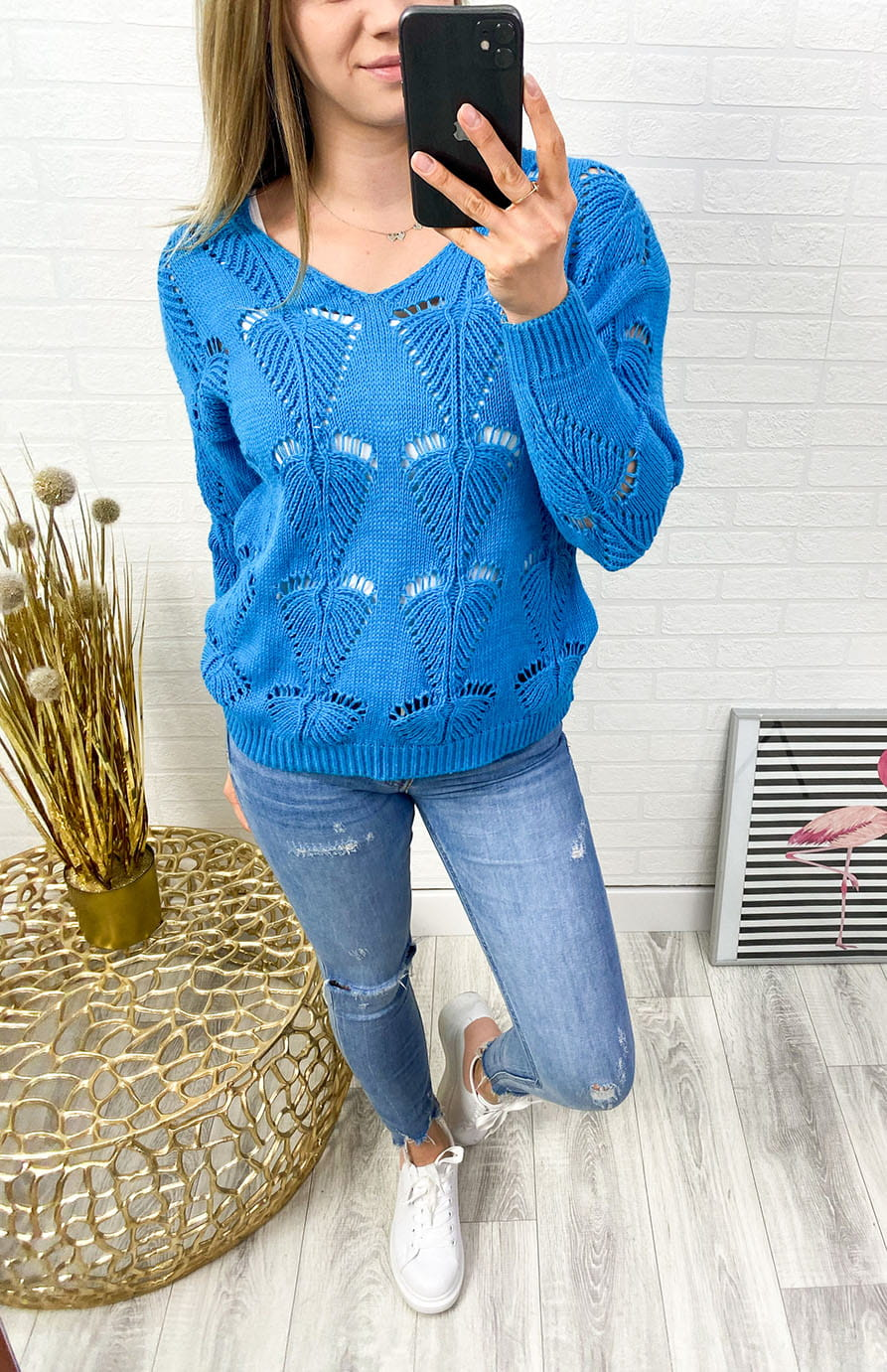 Sweter Blue