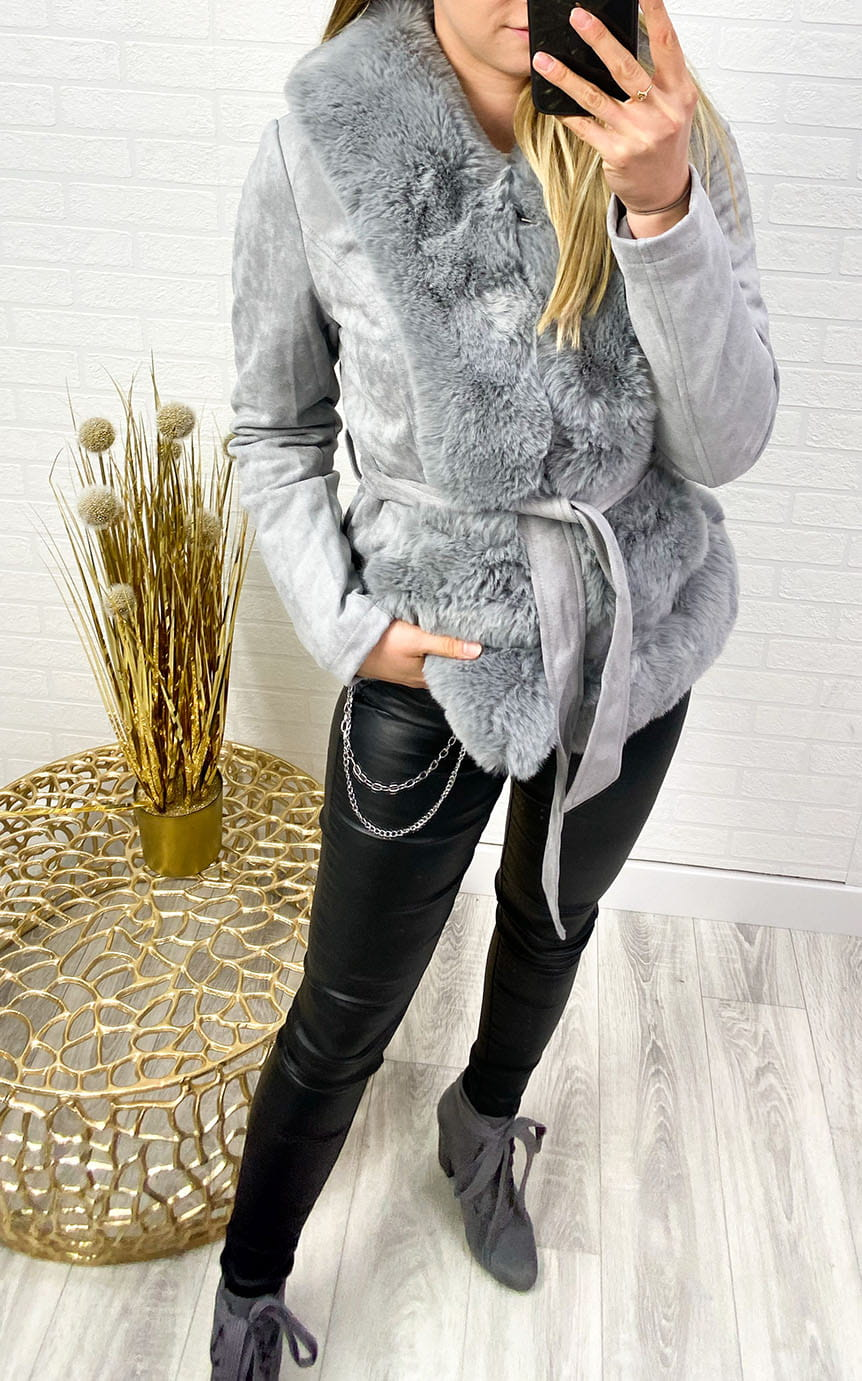 Kurtka Dolly Grey