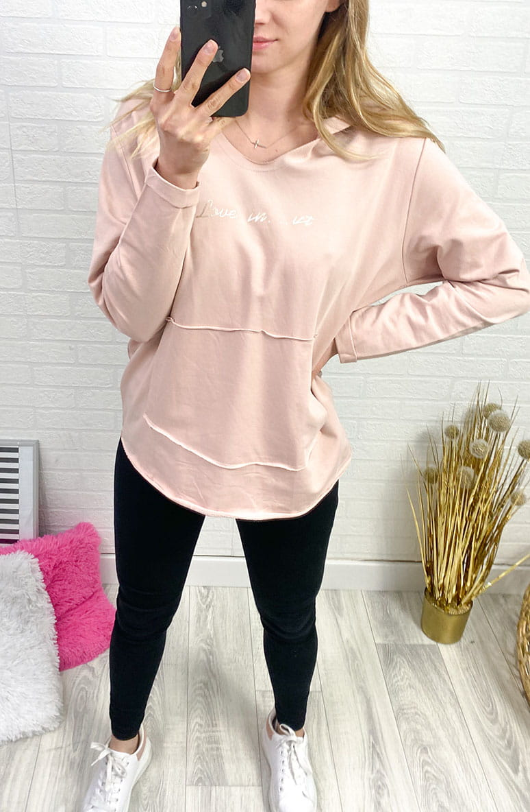 Bluza MEGI Morning PINK